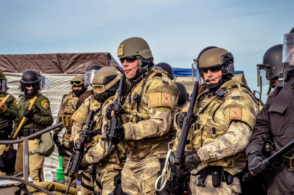 Militarized police force Rob Wilson Photography